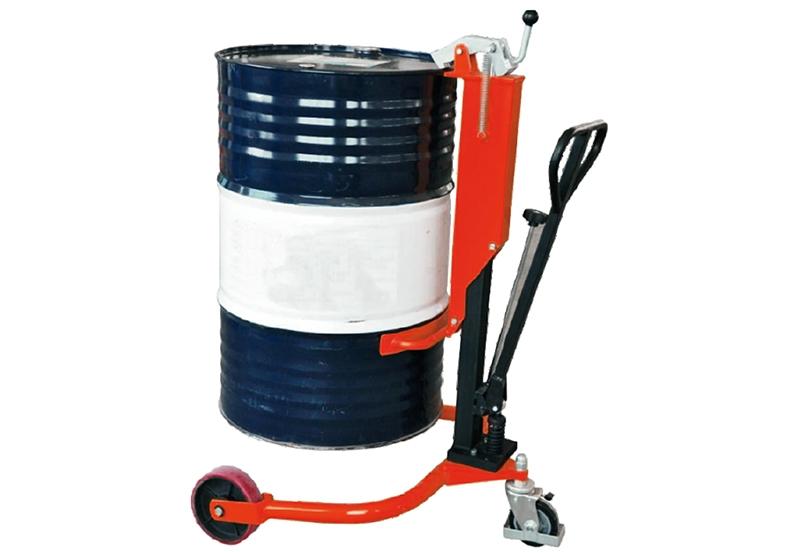 仓储叉车-手动油桶车
